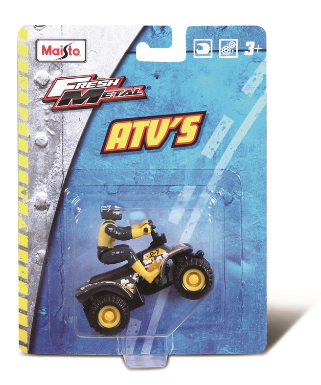 Maisto: Fresh Metal - Pull-Back ATV (Assorted Designs)