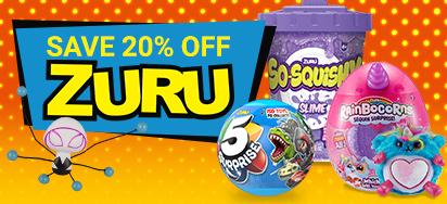 20% off Zuru!