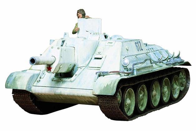 Tamiya 1/35 SU- 112 Russian Tank Scale Model