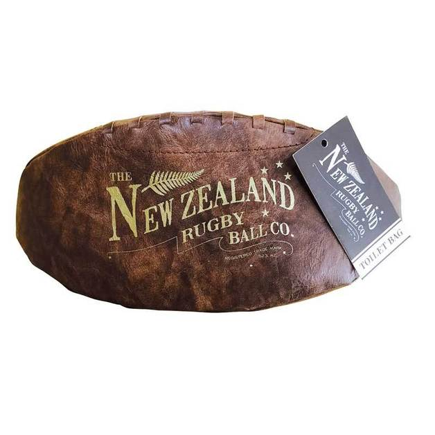 Moana Road Rugby Ball Toiletry Bag