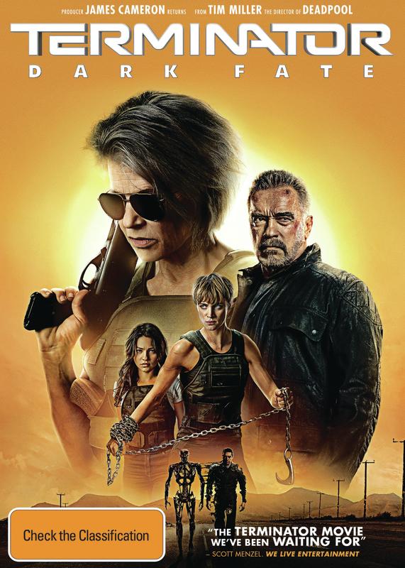 Terminator: Dark Fate on DVD