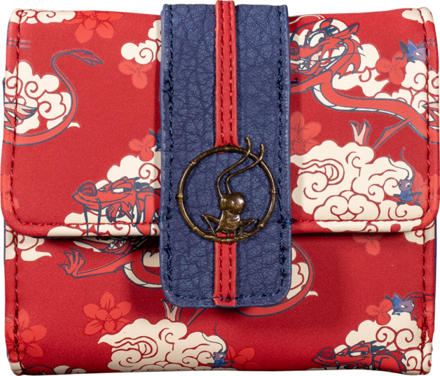 Loungefly: Mulan - Mushu Cloud Wallet