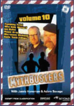 Mythbusters - Vol. 10 on DVD