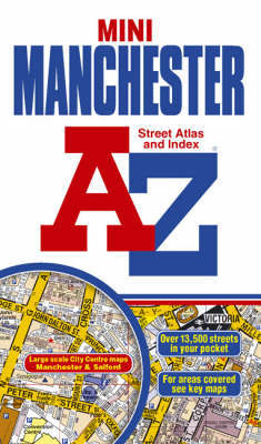 A-Z Manchester Mini Street Atlas by Geographers A-Z Map Company