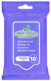 Precious Travel Wipes 5 packs