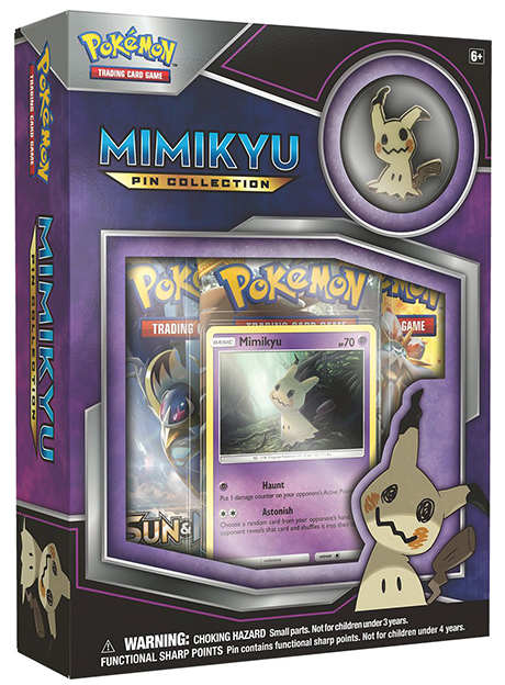 Pokemon TCG Mimikyu Pin Collection