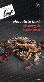 Loaf: Salted Cherry & Hazelnut Chocolate Bar (180g)