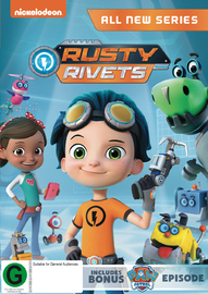 Rusty Rivets: Season 1 on DVD