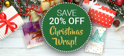 20% off Christmas Wrap