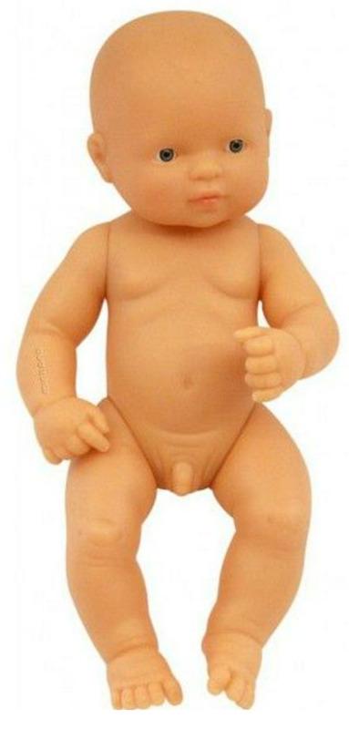 Miniland: Anatomically Correct Baby Doll - Caucasian Boy (32cm)