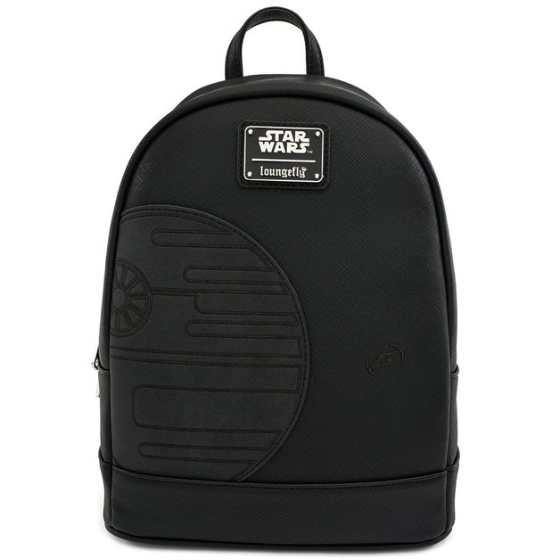 Loungefly: Star Wars - Death Star Black Mini Backpack