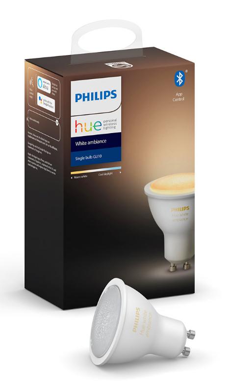 Philips: Hue LED Blub - White Ambience (5.5W/GU10)