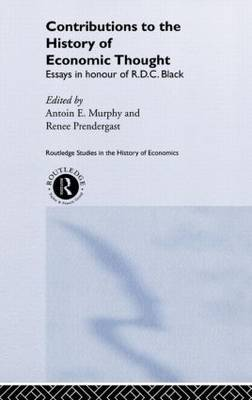 Contributions to the History of Economic Thought