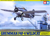 Tamiya: 1/48 Grumman F4F-4 Wildcat - Model Kit image