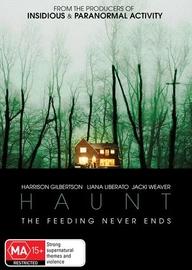 Haunt on DVD