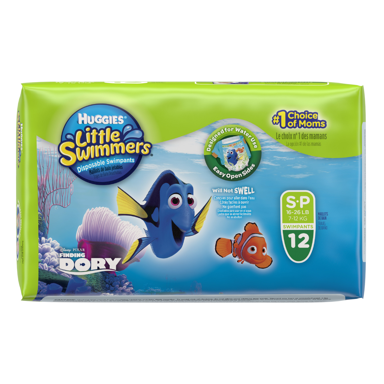Huggies Little Swimmers Swimpants - Small 7-12kg (12) image