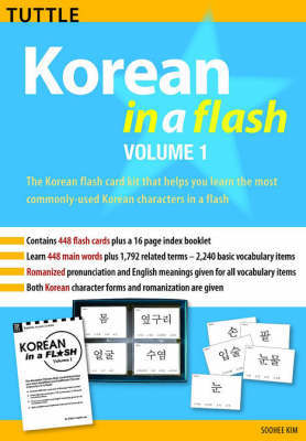 Korean in a Flash: v. 1 by Soohee Kim