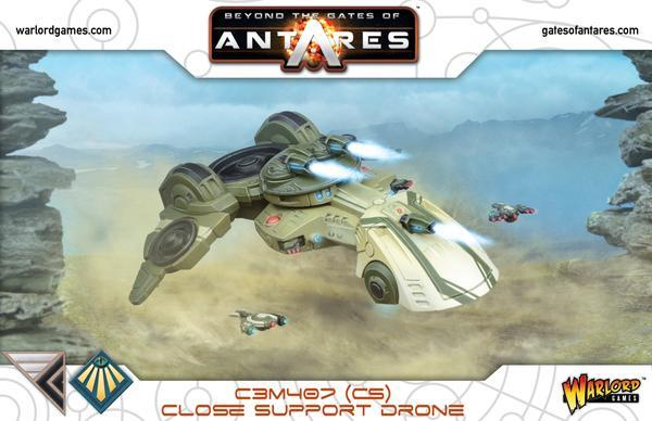 Beyond the Gates of Antares: C3M407 Drone