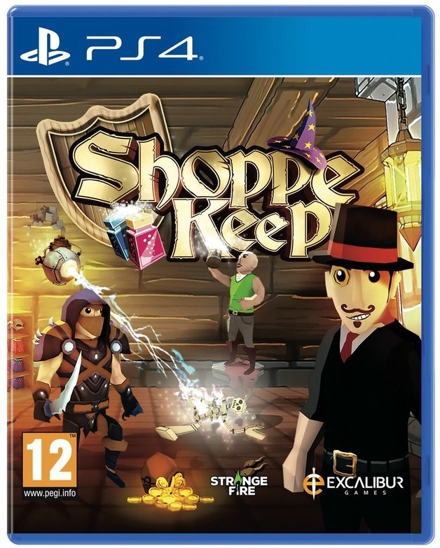 Shoppe Keep for PS4