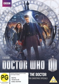 Doctor Who: The Time of the Doctor on DVD