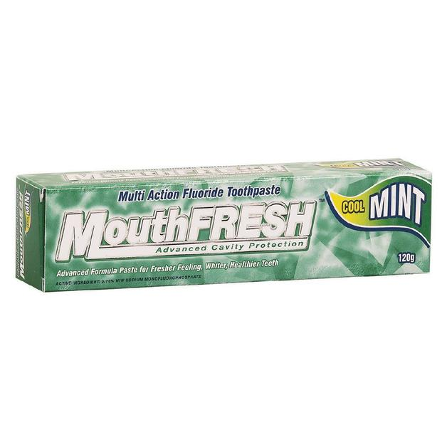 MouthFRESH Cool Mint Toothpaste (120gm)