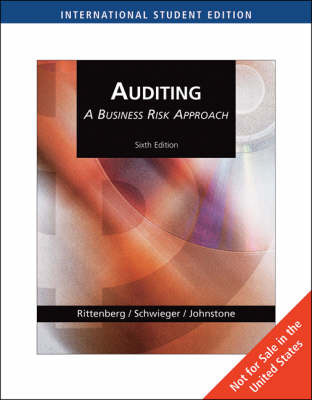 Auditing: A Business Risk Approach: With Acl CD-Rom by Larry E Rittenberg image