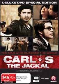 Carlos The Jackal Deluxe Special Edition (4 Disc Set) on DVD