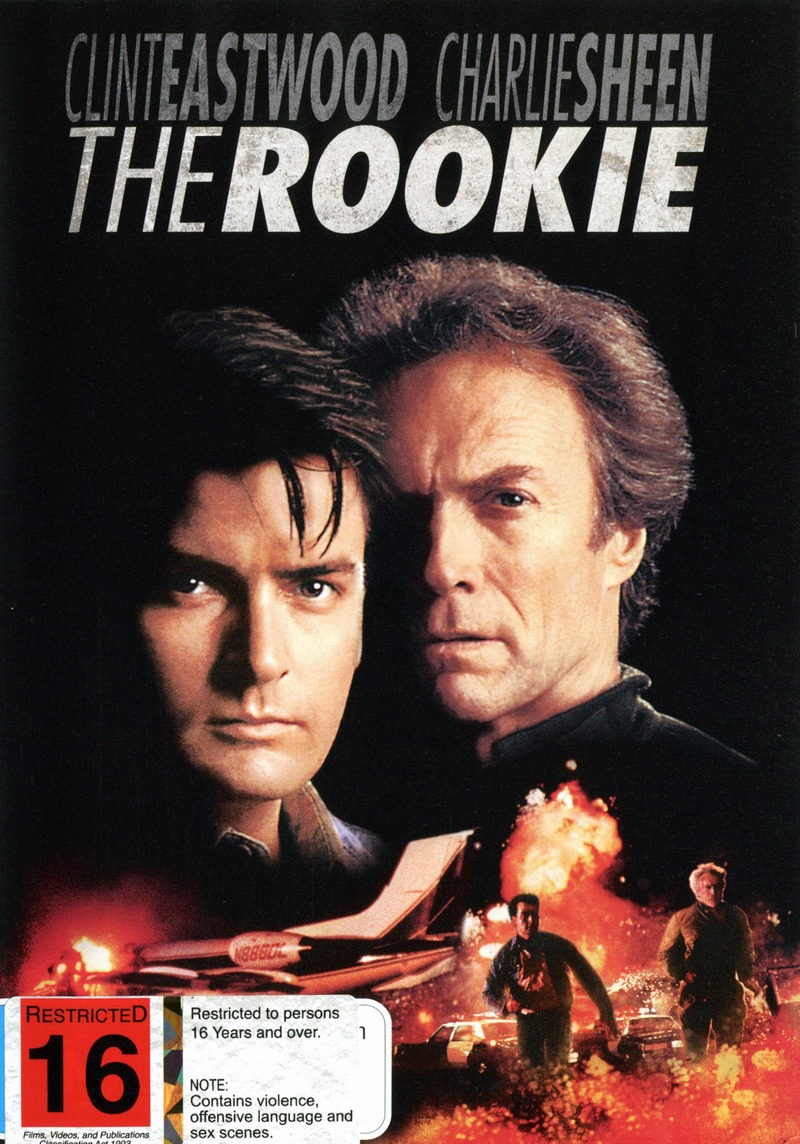 The Rookie on DVD image