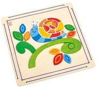 Hape: Happy Snail - Paint and Frame Set