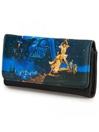 Loungefly Star Wars Luke & Leia Wallet image