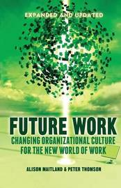 Future Work (Expanded and Updated) by A. Maitland