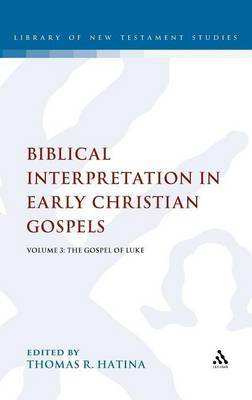 Biblical Interpretation in Early Christian Gospels: v. 3 image