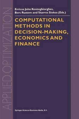 Computational Methods in Decision-Making, Economics and Finance image