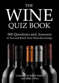 The Wine Quiz Book by Roddy Button