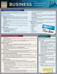 Business: Management Leadership by BarCharts Inc