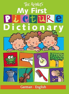 My First Picture Dictionary: German/English by Isabel Carril image