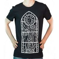 Skyrim: Talos Glass Window - T-Shirt (Large)