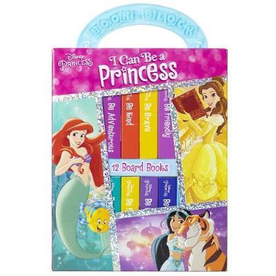 Disney Princess I Can Be a Princess Library