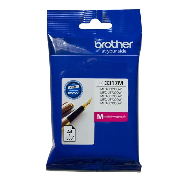 Brother LC-3317M Ink Cartridge (Magenta)