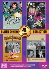 Classic Comedy Collection Volume Two - 4 Movie Box Set (2 Discs) on DVD