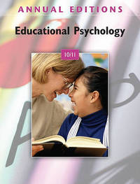 Annual Editions: Educational Psychology 10/11 by Cauley Kathleen image