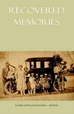 Recovered Memories by Richard L Rapson (Ohio State University) image