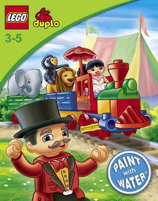 Lego Duplo: Paint with Water Book W36 by LEGO Books