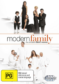 Modern Family - The Complete Third Season on DVD