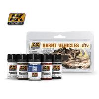 AK Burnt Vehicles Weathering Set