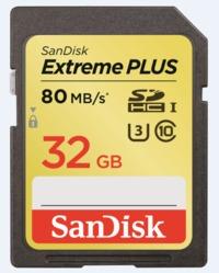 32GB Sandisk Extreme - UHS-I SD Card