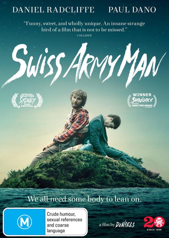 Swiss Army Man on DVD