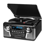 Victrola Classic 50's Style Stereo - Black