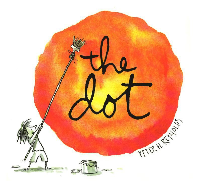 The Dot by Peter H Reynolds image