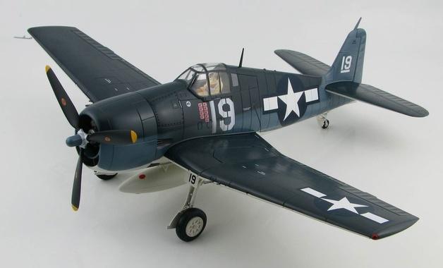 """Hobby Master: 1/32 Grumman F6F-3 """"Hellcat"""" - Diecast Model"""